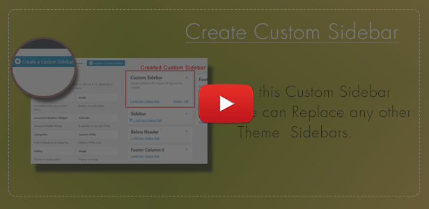 WordPress Sidebar and Widgets Visibility   Create Sidebar, Hide Sidebar and Hide Widgets - 7