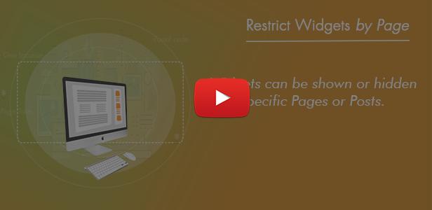 WordPress Sidebar and Widgets Visibility   Create Sidebar, Hide Sidebar and Hide Widgets - 9