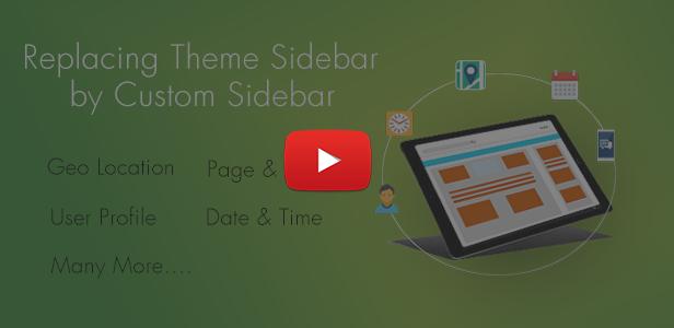 WordPress Sidebar and Widgets Visibility   Create Sidebar, Hide Sidebar and Hide Widgets - 8